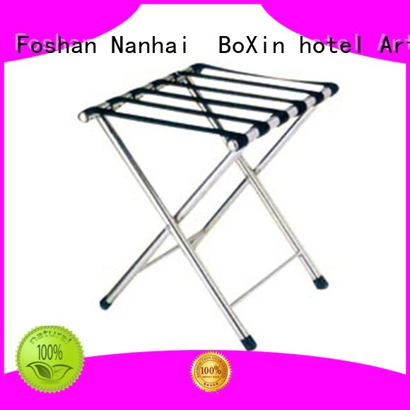 Custom folding hotel luggage rack BoXin carrier