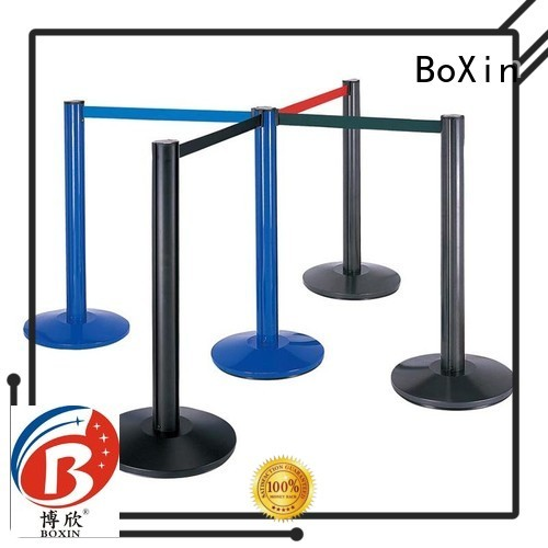 aluminum Custom tape stand crowd control stands BoXin hotel