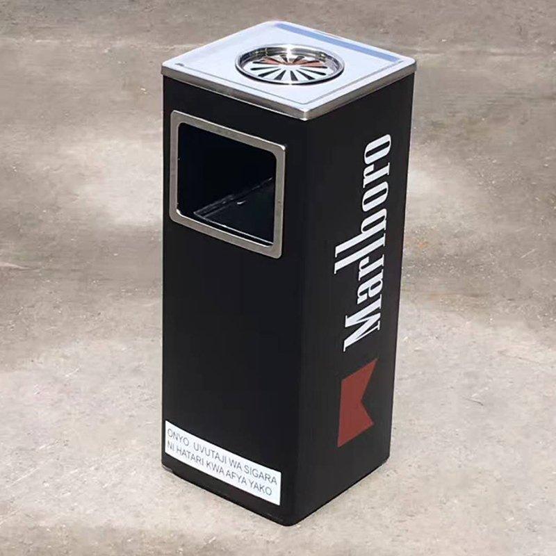Marlboro trash can custom