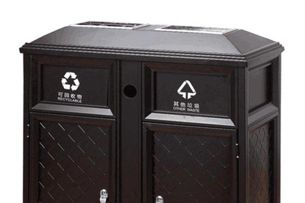 commercial trash bin plaza stainless BoXin Brand