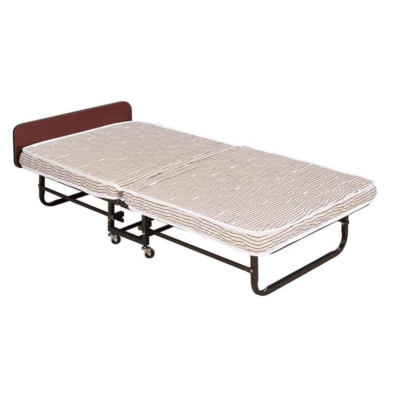 Metal Single Guest Folding Mattress Bed