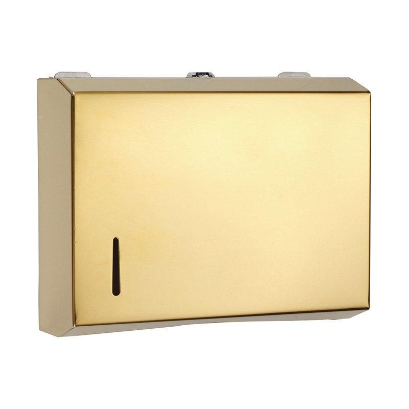 Lockable wall mount tissue box automatic paper towel dispenser