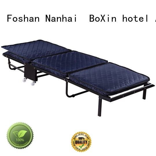 hospital quality folding BoXin Brand extra bed in hotel