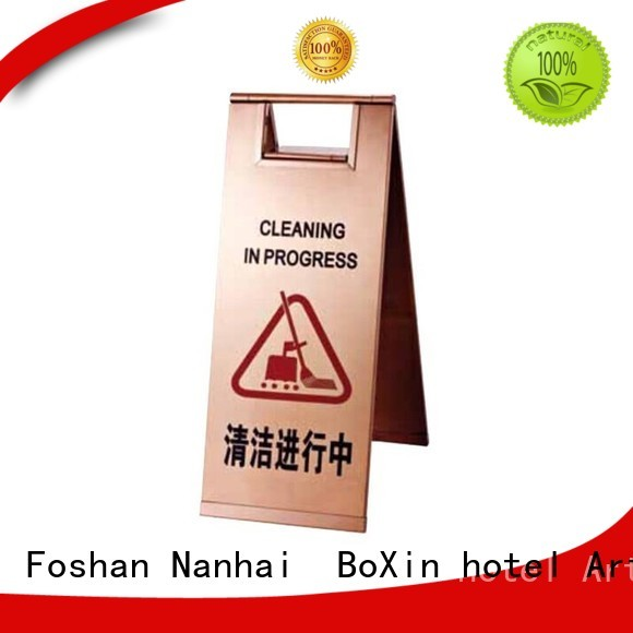 BoXin Brand sign stand bevel hotel sign
