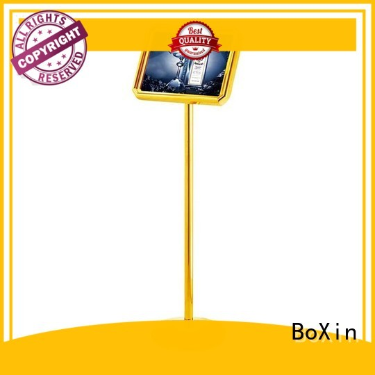 BoXin Brand board ss201folding hotel sign street supplier