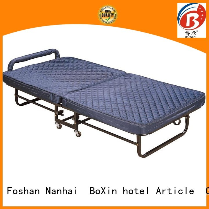 folding bed mattress mattress extra bed in hotel BoXin Brand