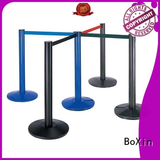 BoXin Brand hotel railing velvet rope and stands