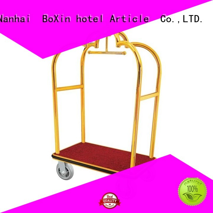BoXin Brand hotel carts trolley luggage trolley cart
