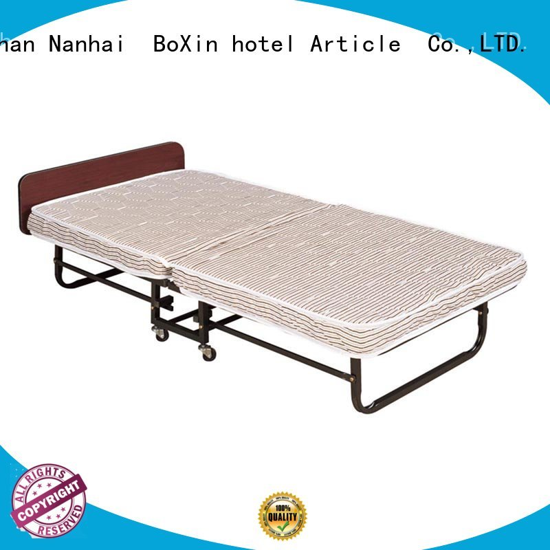 Custom mattress rollaway extra bed in hotel BoXin extra