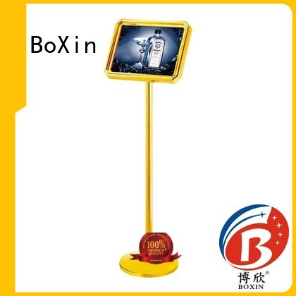 hotel sign bevelled broad BoXin Brand hotel sign stand