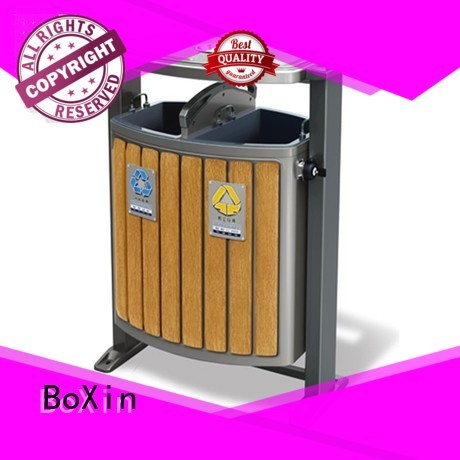 BoXin Brand collection outdoor trash bin recycling factory