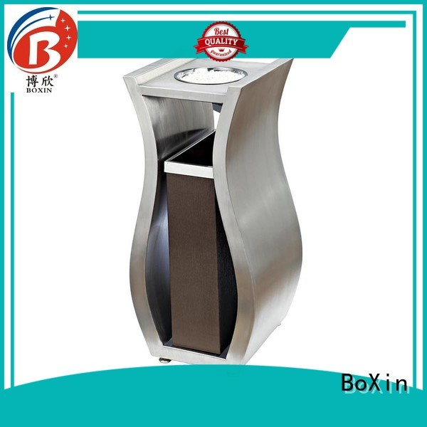 indoor garbage bins champagne single BoXin Brand company