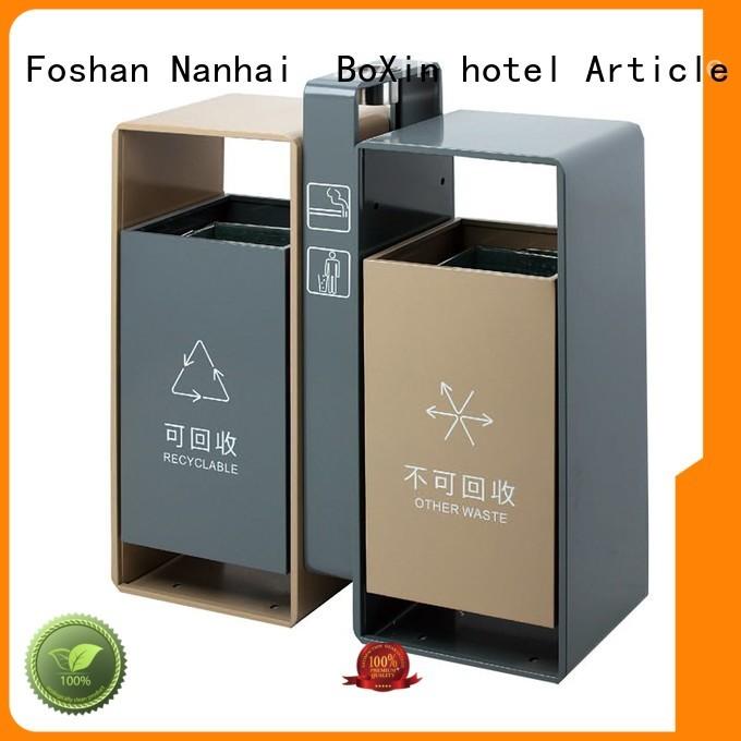 die houseshaped classification dust BoXin Brand outdoor trash bin supplier