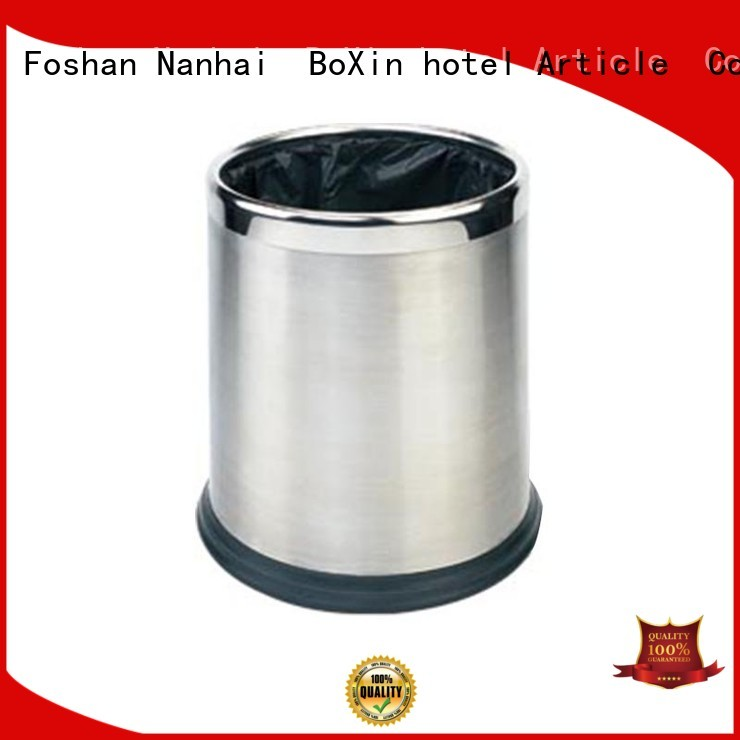 dustbin hotel size BoXin Brand bedroom garbage can manufacture