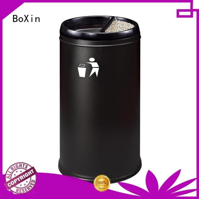 square metal indoor indoor garbage bins BoXin manufacture