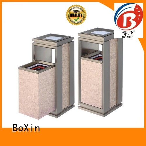 indoor garbage bins metal hotel trash can mobile company