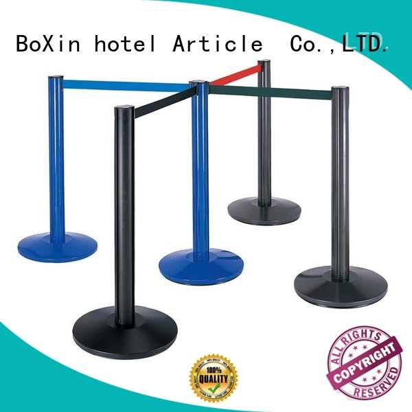 velvet rope and stands retractable BoXin Brand crowd control stands