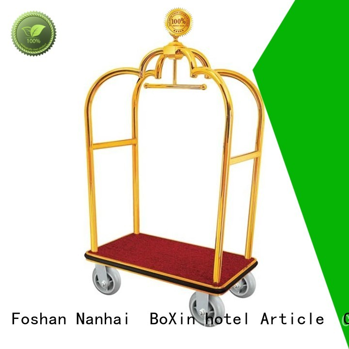 steel luggage trolley cart carts BoXin company