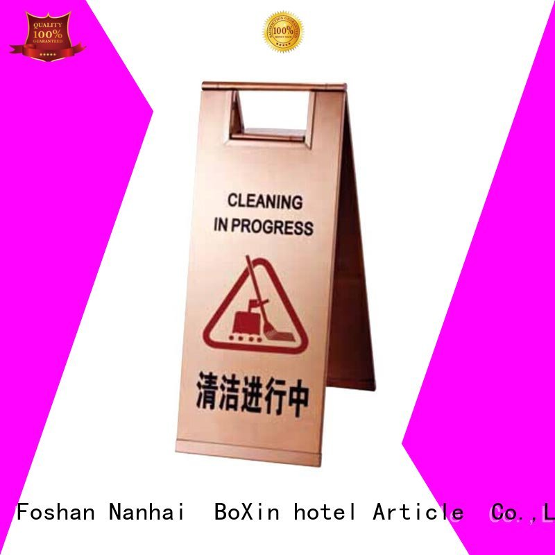 steel hotel sign concierge BoXin company