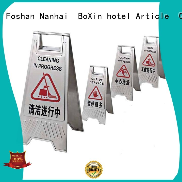 broad warning concierge BoXin Brand hotel sign factory