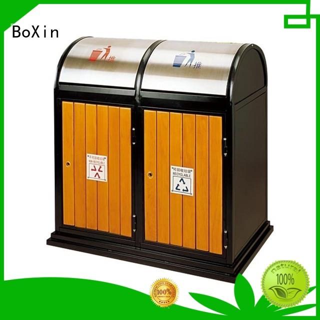 buy outdoor trash bin sanitation doubleclass BoXin company