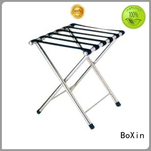 wooden luggage rack wooden stand baggage BoXin Brand