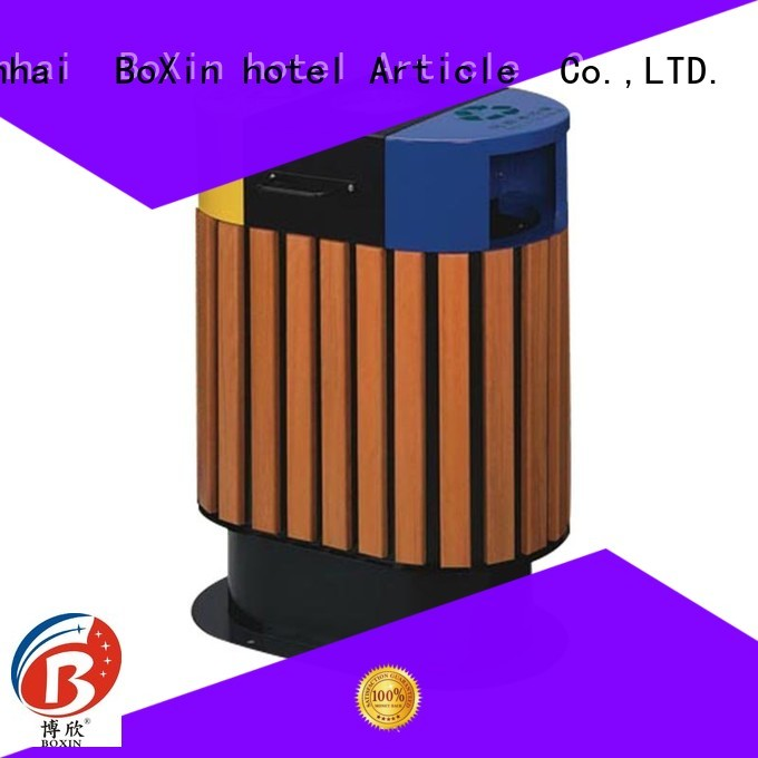 classification garbage doubleclass outdoor trash bin BoXin Brand