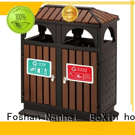 commercial trash bin garbage municipal outdoor trash bin church BoXin Brand