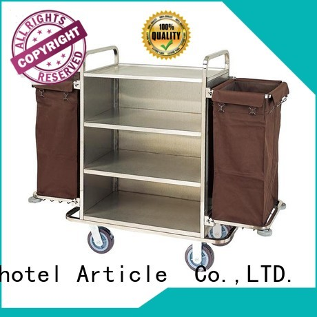 BoXin Brand cleaning housekeeping room service carts for hotels equipment supplier