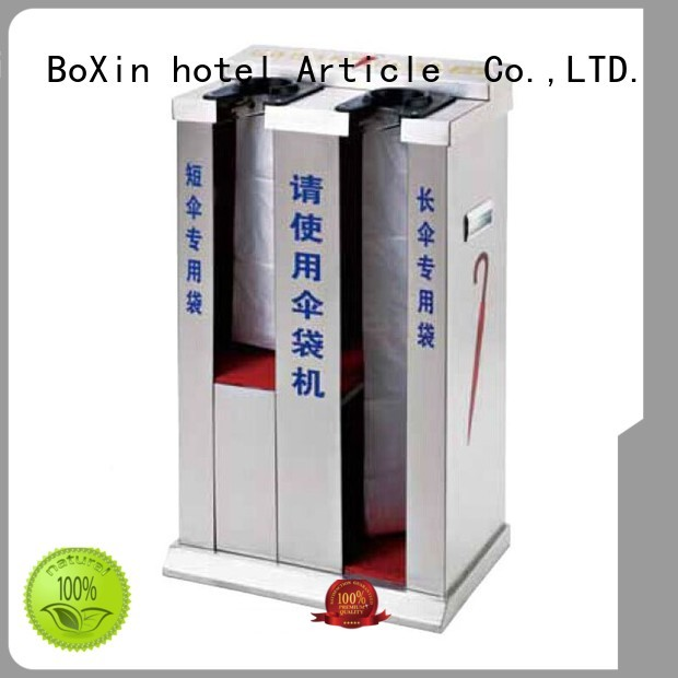 BoXin Brand rackumbrella wet umbrella wrapping machine hotel supplier