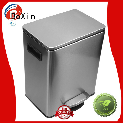 BoXin Brand small dustbin bedroom garbage can size