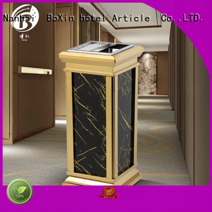 indoor plating hotel trash can garbage BoXin Brand
