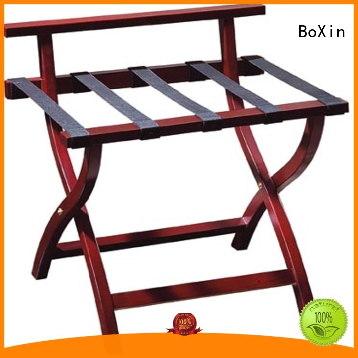 luggage wooden wooden luggage rack BoXin manufacture