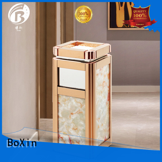 imported indoor garbage bins oak BoXin company