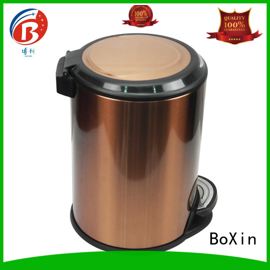 BoXin Brand dustbin chinese room trash can hotel factory